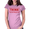 Think idea Womens Fitted T-Shirt