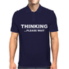 Thinking Please Wait Mens Polo