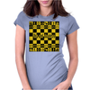 THIS AINT CHECKERS Womens Fitted T-Shirt