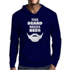 This Beard Needs Beer Mens Hoodie