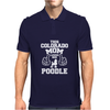 THIS COLORADO MOM LOVES HER POODLE Mens Polo