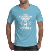 THIS COLORADO MOM LOVES HER POODLE Mens T-Shirt