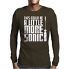 This Could Be A Little More Sonic Mens Long Sleeve T-Shirt