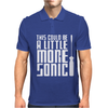This Could Be A Little More Sonic Mens Polo