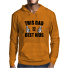 THIS DAD HAS THE BEST KIDS Mens Hoodie