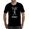 This Girl Is Going To Be A Mummy Mens T-Shirt