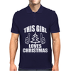 This Girl Loves Christmas Mens Polo