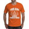 This Girl Loves Christmas Mens T-Shirt