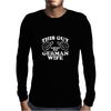THIS GUY LOVES HIS GERMAN WIFE Mens Long Sleeve T-Shirt