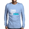 This is Living // Hillsong Young & Free Mens Long Sleeve T-Shirt