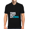 This is Living // Hillsong Young & Free Mens Polo