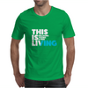 This is Living // Hillsong Young & Free Mens T-Shirt