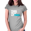 This is Living // Hillsong Young & Free Womens Fitted T-Shirt