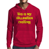 This Is My Halloween Costume Mens Hoodie