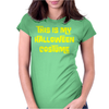 This Is My Halloween Costume Womens Fitted T-Shirt
