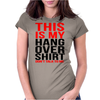 This is my hangover shirt don't talk to me Womens Fitted T-Shirt