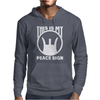 This Is My Peace Sign Mens Hoodie