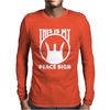 This Is My Peace Sign. Mens Long Sleeve T-Shirt