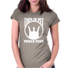 This Is My Peace Sign. Womens Fitted T-Shirt