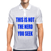 This is not the nerd you seek Mens Polo