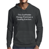 This is Scaffolder. Mens Hoodie