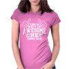 This Is What An Awesome Chef Looks Like Womens Fitted T-Shirt