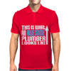 This is What an Awesome Plumber Looks Like Mens Polo