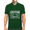 This Is What An Awesome Uncle Looks Like - Mens Funny Father's Day Mens Polo