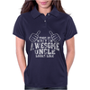 This Is What An Awesome Uncle Looks Like Womens Polo
