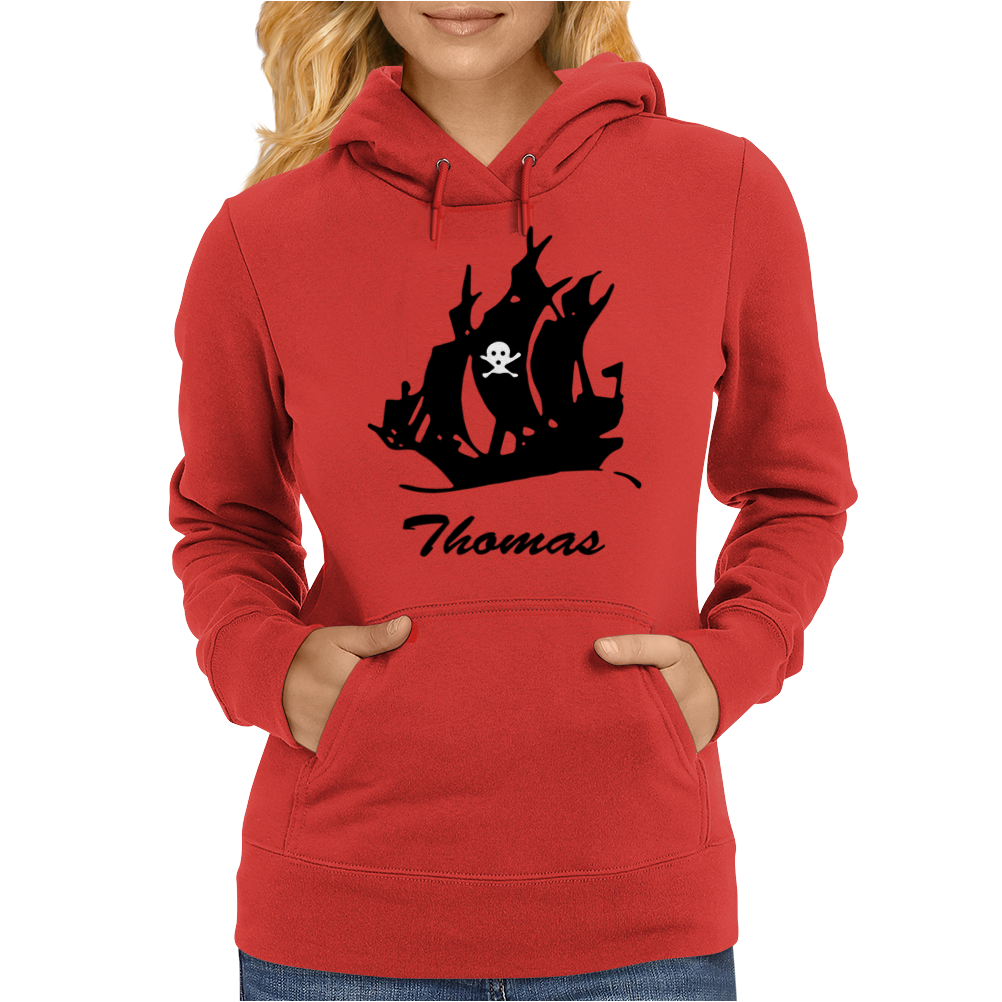 Thomas pirate Womens Hoodie