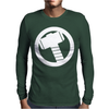 Thor Logo Avengers Marvel Mens Long Sleeve T-Shirt