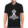 Thors Hammerretro Viking Norse fashion cool Mens Polo