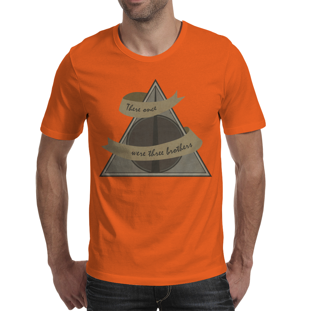 Three Brothers Mens T-Shirt