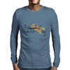 Three climbs to Mont Ventoux Mens Long Sleeve T-Shirt