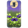 Three cute frogs singing Phone Case