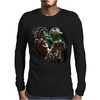 Three Ewok Moon Funny Star Wars Parody Joke Mens Long Sleeve T-Shirt