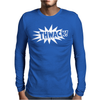 THWACK Mens Long Sleeve T-Shirt