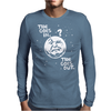 Tide Goes In & Out Mens Long Sleeve T-Shirt