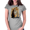 Tiger Claw Womens Fitted T-Shirt
