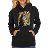 Tiger Claw Womens Hoodie
