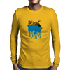 Tiger Drips Mens Long Sleeve T-Shirt