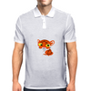 tiger dude Mens Polo