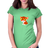 tiger dude Womens Fitted T-Shirt