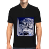 Tiger Etched Mens Polo