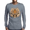 Tiger Mens Long Sleeve T-Shirt