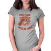 Tiger This Team Makes Me Drink Womens Fitted T-Shirt