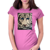 TIGGER  ABSTRACT Womens Fitted T-Shirt