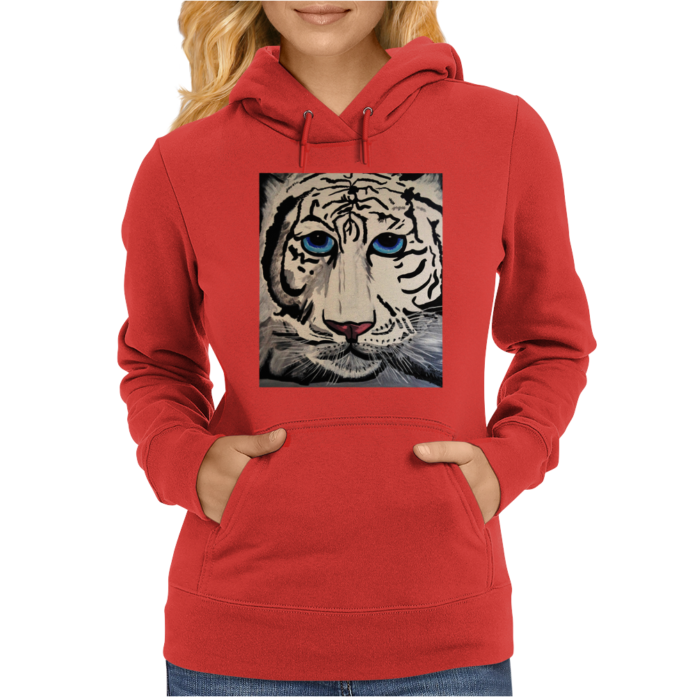 TIGGER THE TIGER Womens Hoodie
