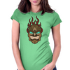 TIKI FLAMES Womens Fitted T-Shirt
