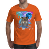 Timber Wolf MidNight Forest Mens T-Shirt